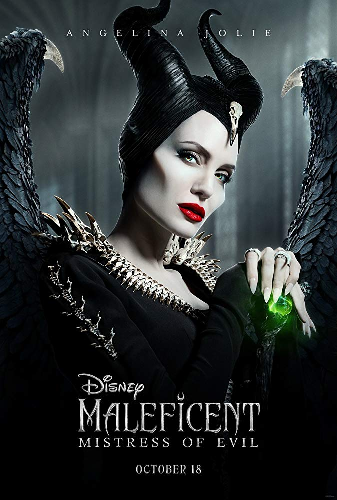 Angelina Jolie in Maleficent Mistress of Evil 2019