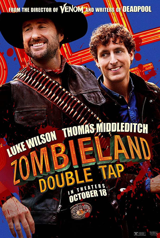 Luke Wilson and Thomas Middleditch in Zombieland Double Tap (2019)