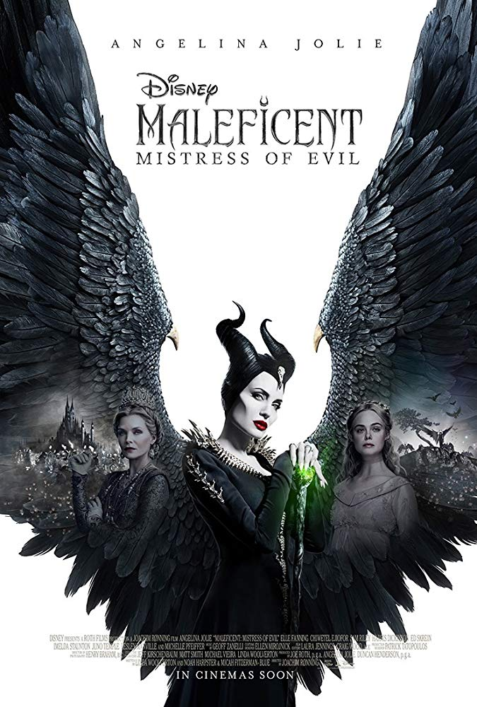 Michelle Pfeiffer Angelina Jolie and Elle Fanning in Maleficent Mistress of Evil (2019)