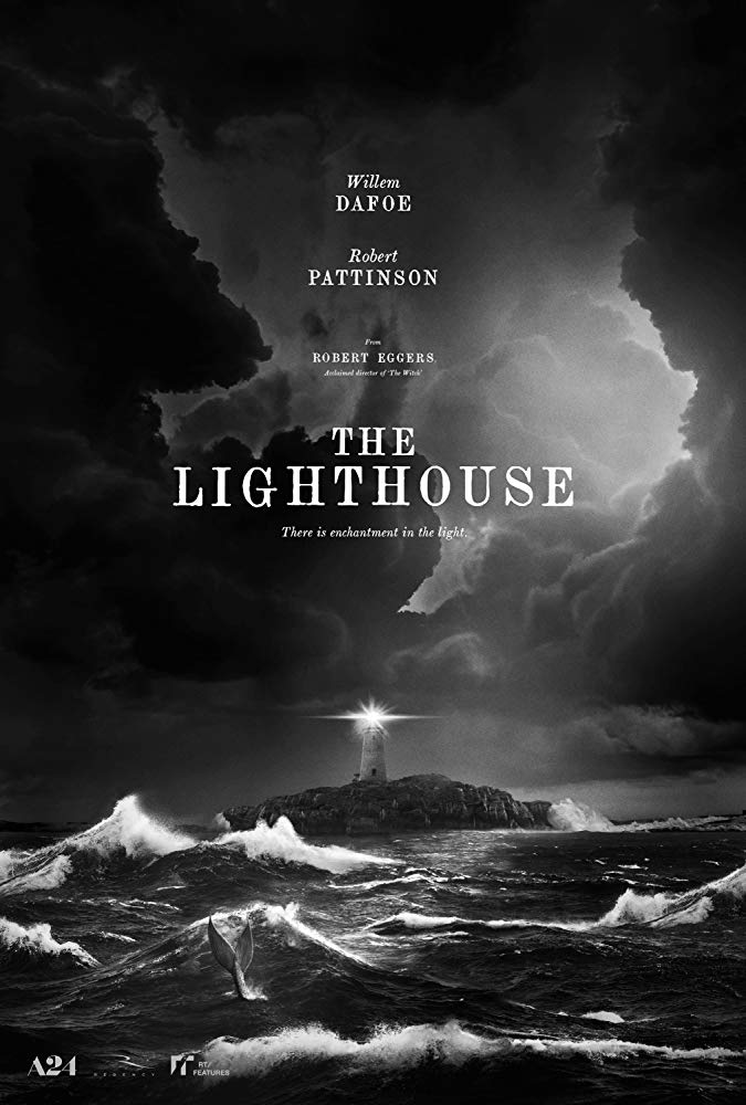 Willem Dafoe and Robert Pattinson in The Lighthouse (2019) Brazil