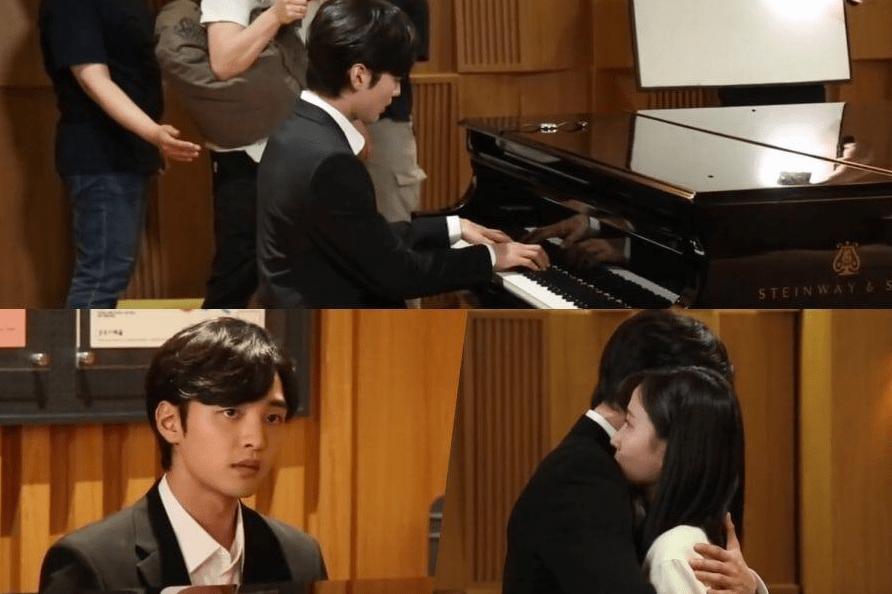 Kim Min Jae Menunjukkan Keterampilan Piano-min