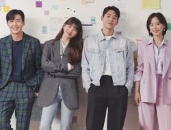 "Suzy, Nam Joo Hyuk, Kim Seon Ho, dan Kang Han Na Siap Menghadapi Tantangan di Poster ""Start-Up"""