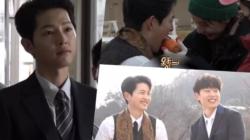 """Di Balik Layar """"Vincenzo"""" Song Joong Ki Tampil Manis dan Penuh Kasih dengan Jeon Yeo Bin dan Kim Sung Cheol"""
